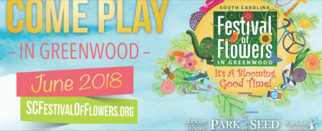 The South Carolina Festival Of Flowers Is Coming To Greenwood