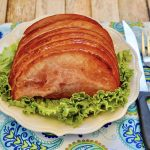 Air Fryer Brown Sugar Ham