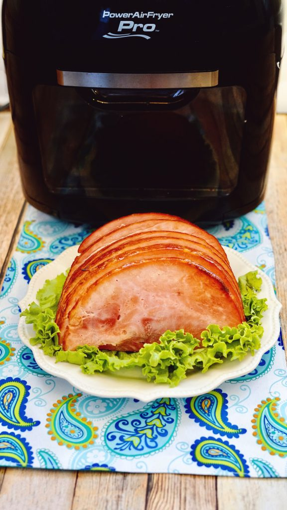 Air Fryer Brown Sugar Ham